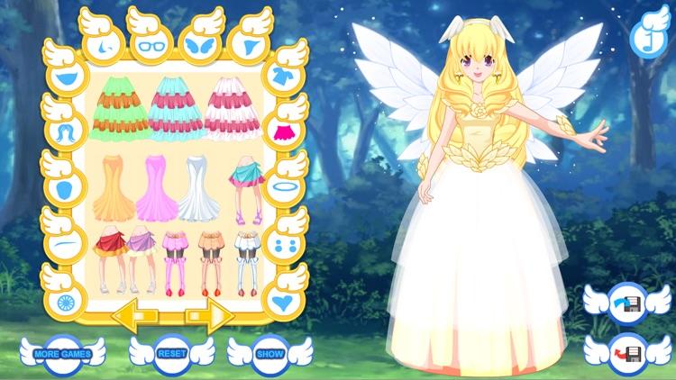 Angel Avatar Dress Up Games screenshot-4