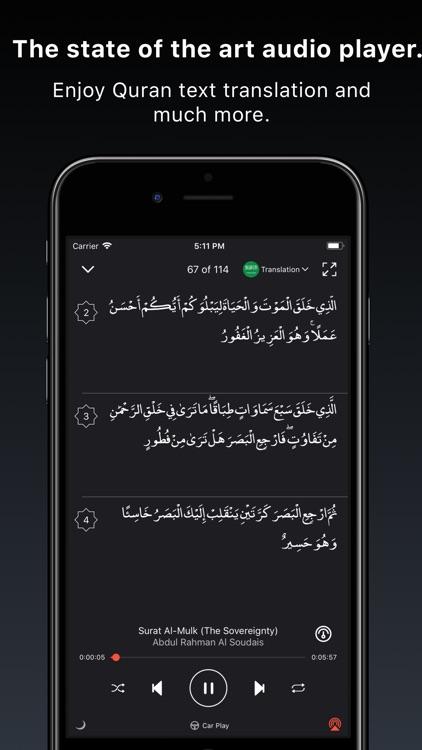 Quran Pro Muslim القرآن الكريم screenshot-3