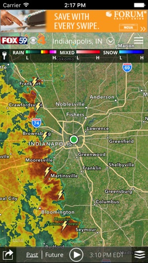 Indy Weather Authority On The App Store