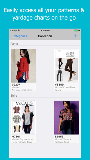 My Sewing Patterns on the App Store