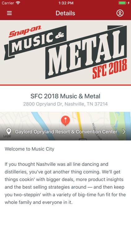 Snap-on SFC 2018 Music & Metal