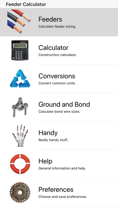 Feeder calculator app free ios app store screenshots keyboard keysfo Images