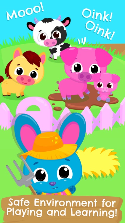 Cute & Tiny Farm Animals screenshot-5