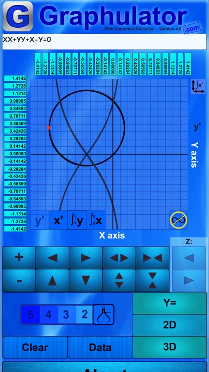 Graphulator Calculator
