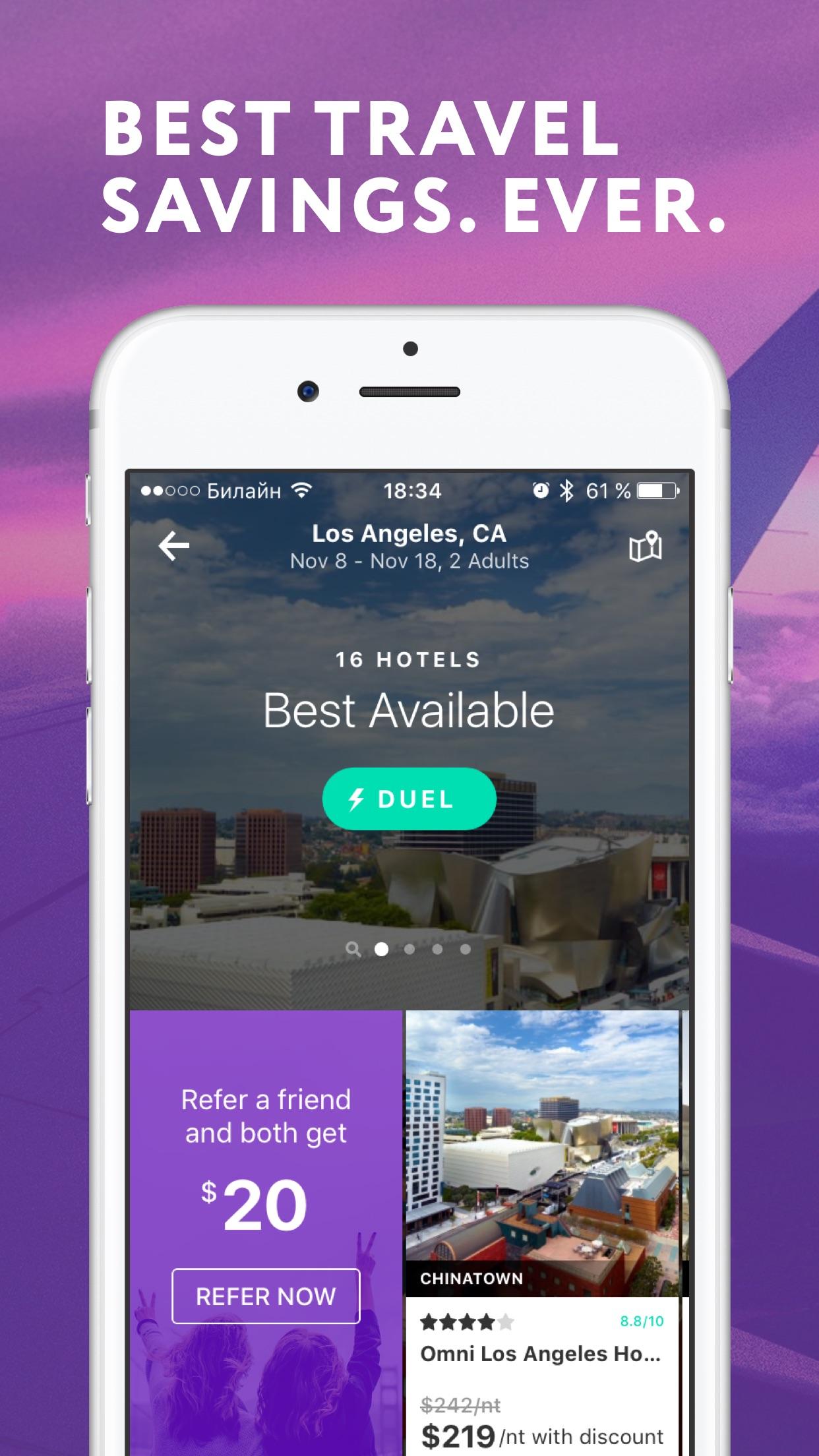 FinalPrice - Hotel Flight Car Screenshot