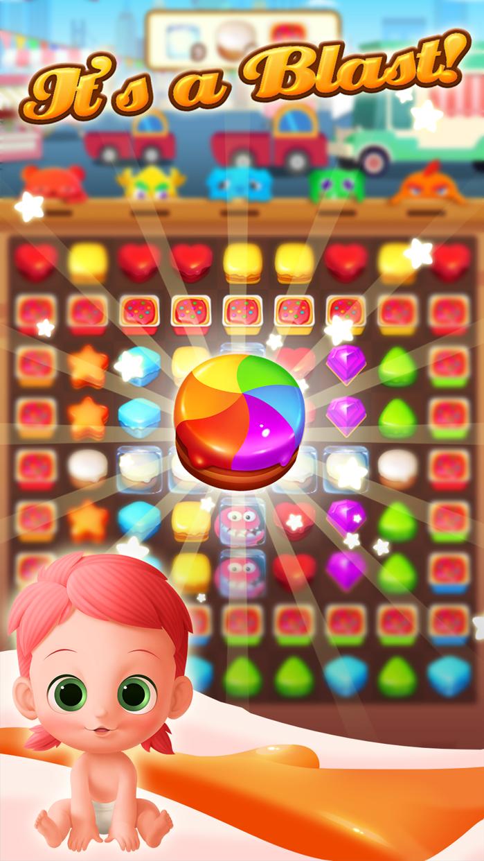 Cookie Crush . Screenshot
