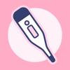 シンプル基礎体温:生理管理や排卵日予測の人気の基礎体温グラフ