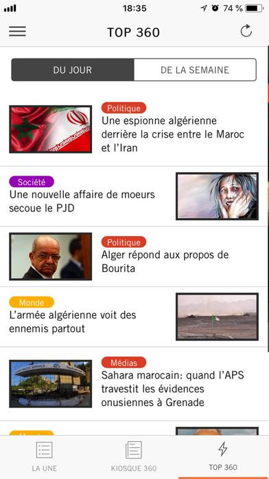 Le360.ma screenshot four