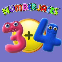Numberjacks Addition up to 10
