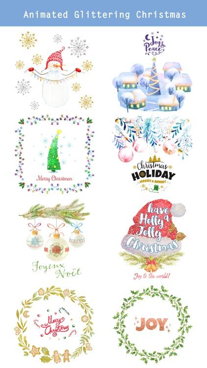 Animated Glittering Christmas