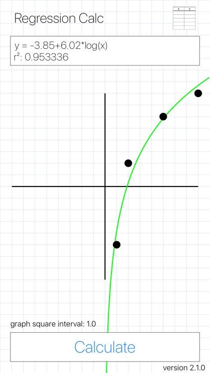 Regression Calc screenshot-4