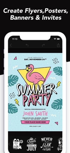 desyne flyer maker on the app store
