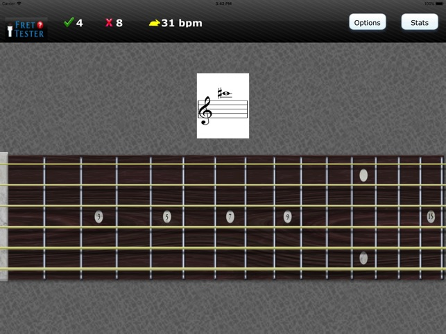 Fret Tester - Learn Notes