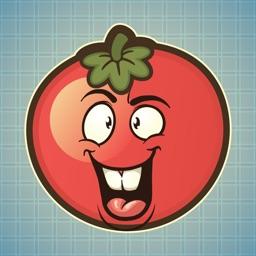 Sticker Me Tricky Tomato