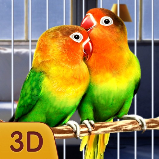Home Pet Parrot Simulator Icon