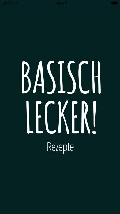 Screenshot for 95 leckere basische Rezepte in Germany App Store