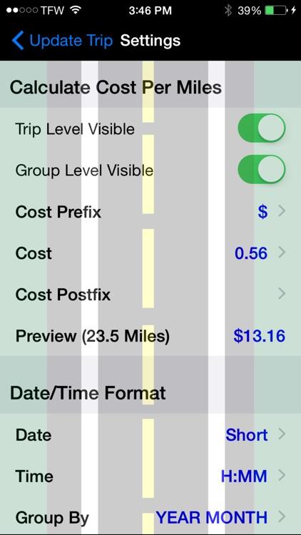 Track My Mileage screenshot-4