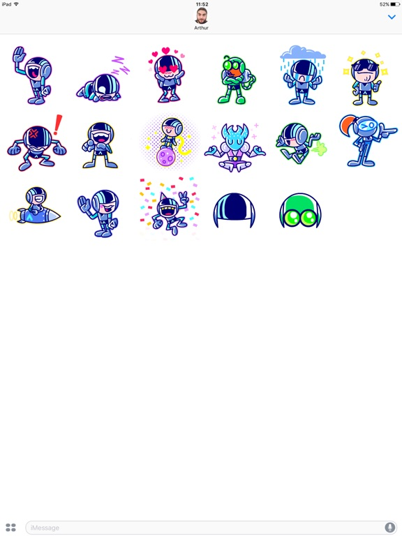 Iron Marines Stickers screenshot 6