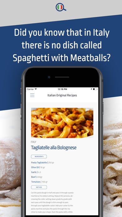 Authentico I love Italian food screenshot two