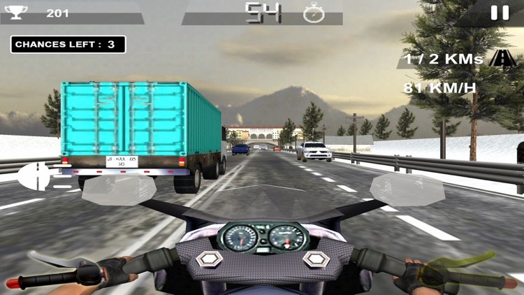 Hight Speed Rider 3D