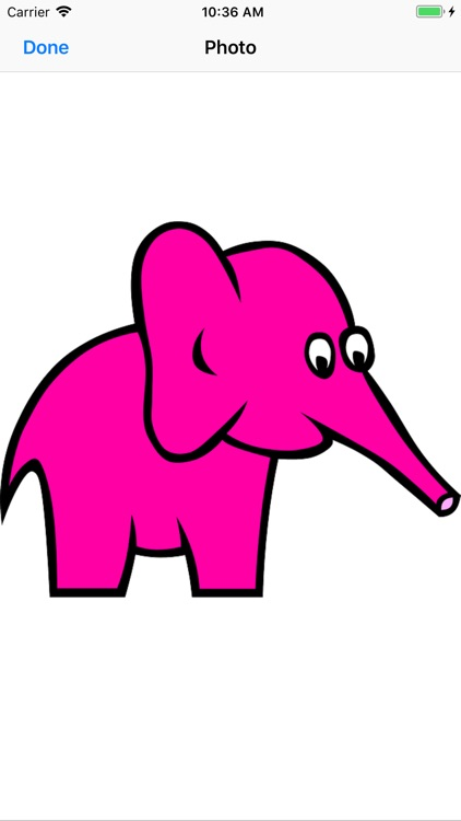 Pink Elephant Sticker Pack screenshot-2