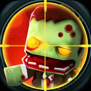 像素枪战:狙击手射击僵尸游戏