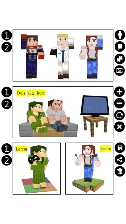 Cubic Comic Maker