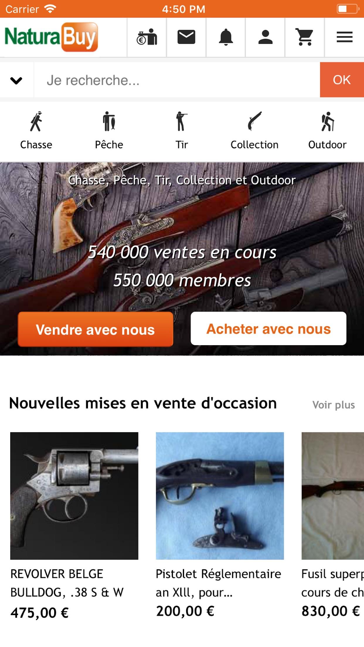 NaturaBuy Screenshot