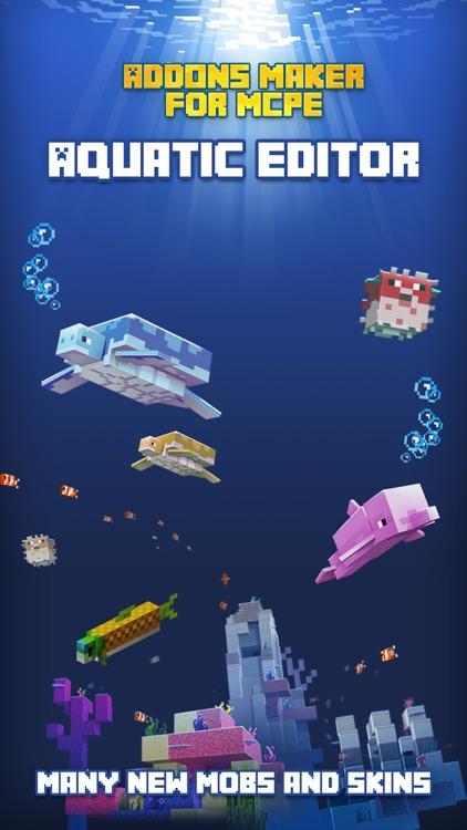 AddOns Maker for Minecraft PE screenshot-0