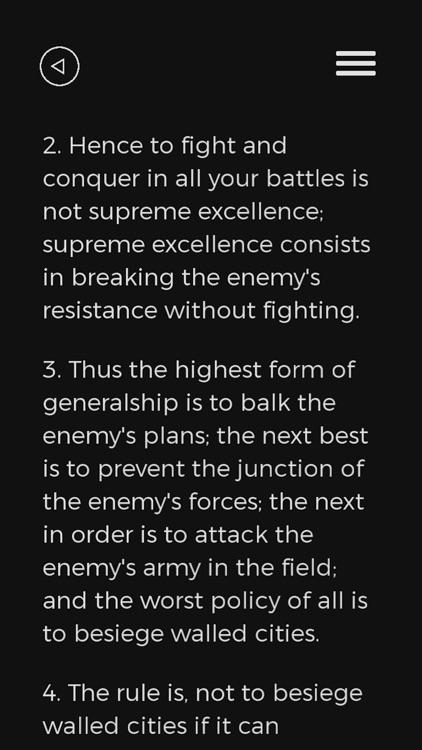 The Art of War - Sun Tzu Book screenshot-4