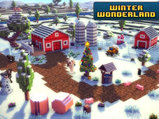 Blocky Roads Winterland iPad app afbeelding 4