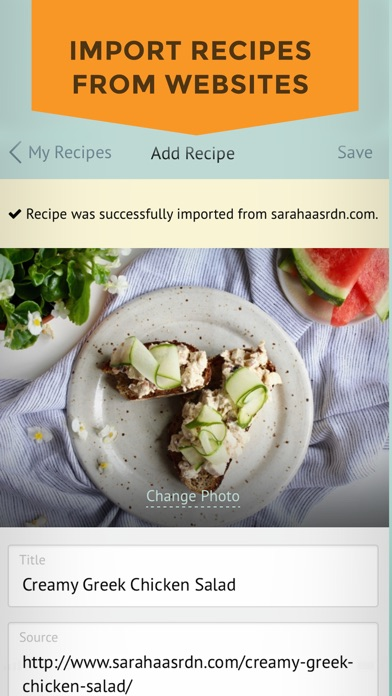 Plan to Eat - Meal Planner Screenshot
