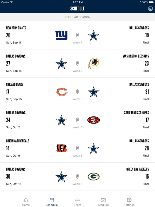 Dallas Cowboys On The App Store