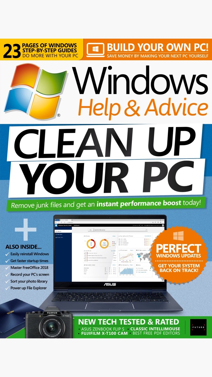 Windows Help & Advice Screenshot