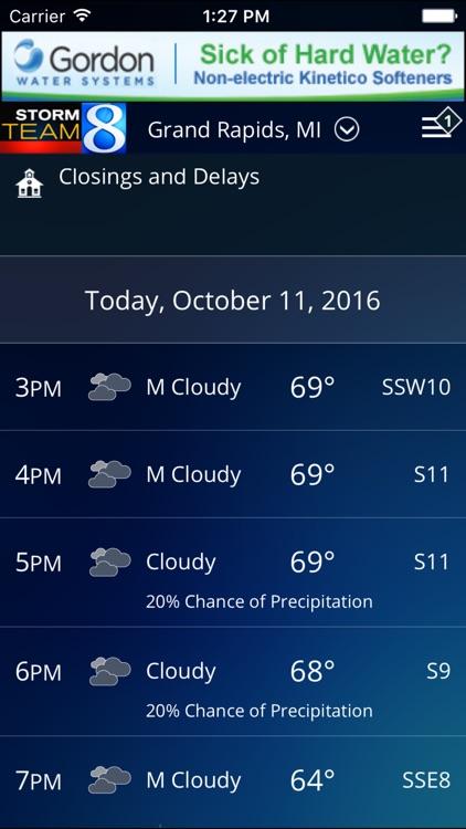 Storm Team 8 - WOODTV8 Weather screenshot-4