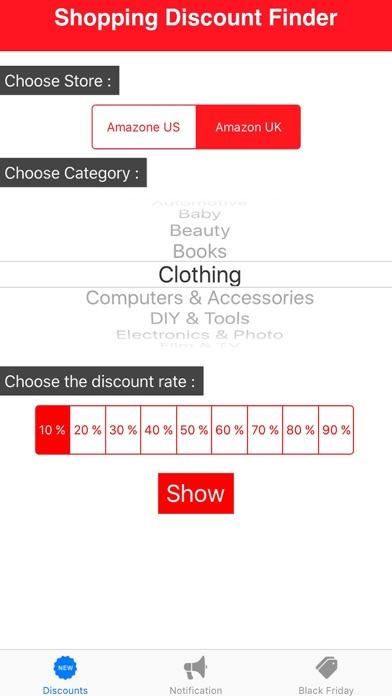 Shopping Discount Finder screenshot two