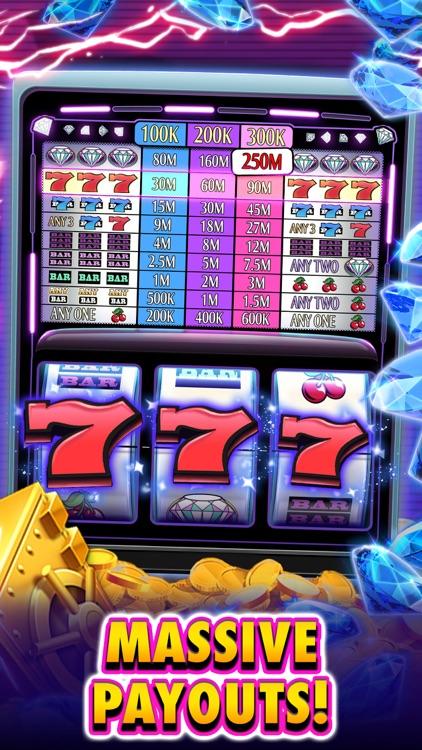Huuuge Diamonds Slot Machine screenshot-3