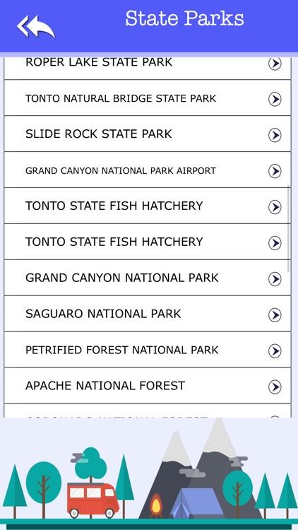 Arizona Camping & State Parks screenshot-3