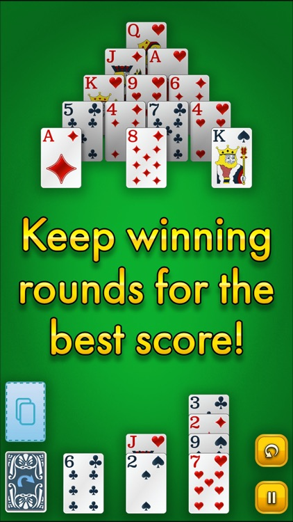 Pyramid Solitaire Classic screenshot-3
