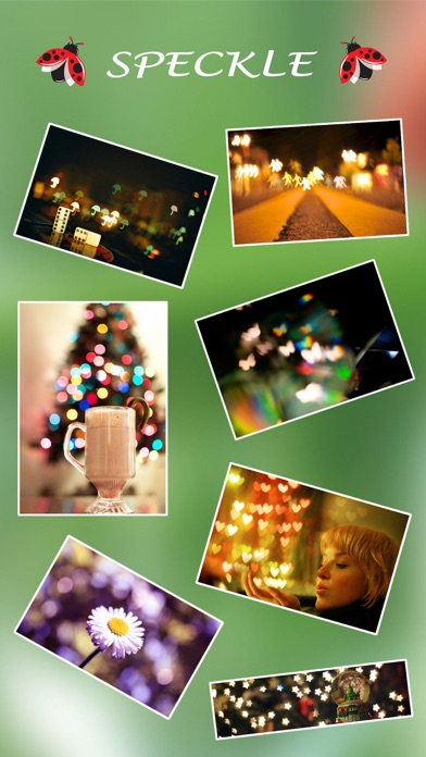 Screenshot #6 for Speckle - Lens bokeh