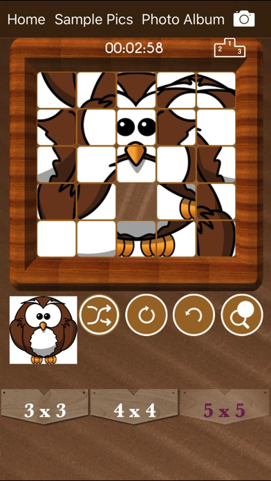 Sliding Puzzle : Tile Puzzles screenshot 2