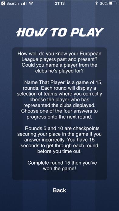 Name That Player screenshot two