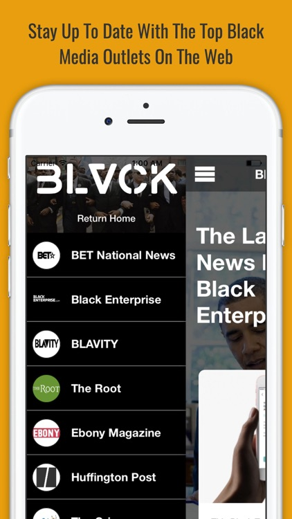 BLVCK - Centralized Hub For African American News screenshot-4