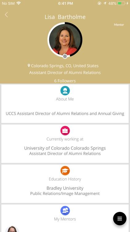 UCCS Online Mentoring Network screenshot-3