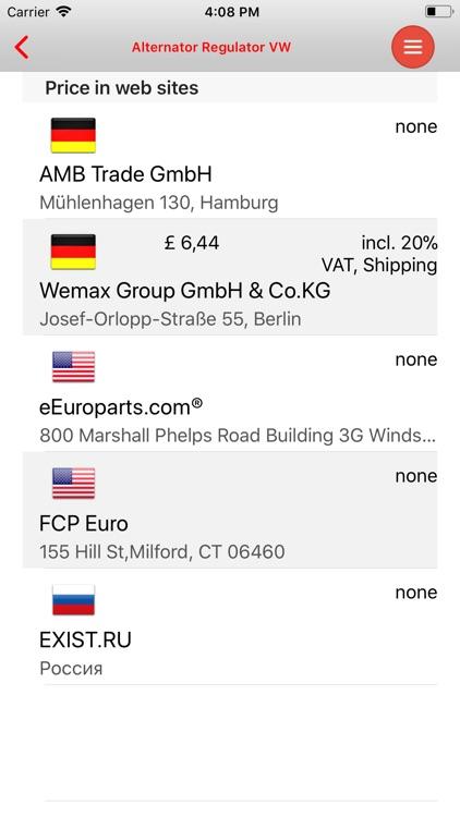 AutoParts VW Passat screenshot-4