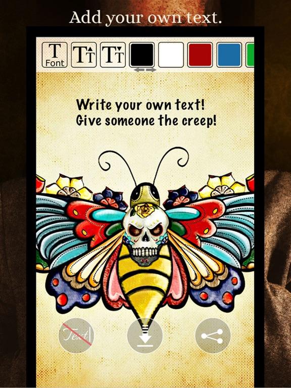 SKULLS Gothic Wallpaper Maker screenshot 12