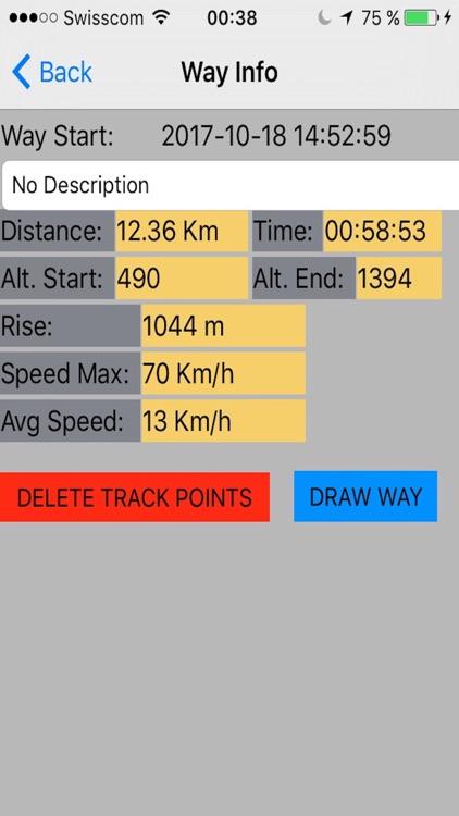 GPS tracker, speed, compass screenshot-3