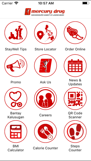Mercury Drug On The App Store