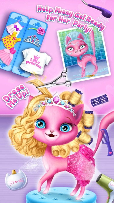 Cat Hair Salon Birthday Party screenshot 4