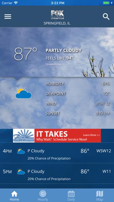 Fox Illinois Weather App | App Price Drops